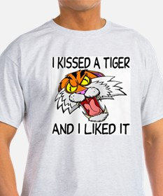 I Kissed A Tiger T-Shirt
