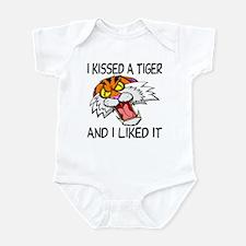 I Kissed A Tiger Infant Bodysuit