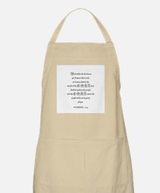 NUMBERS  11:33 BBQ Apron