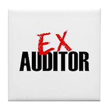 Ex Auditor Tile Coaster
