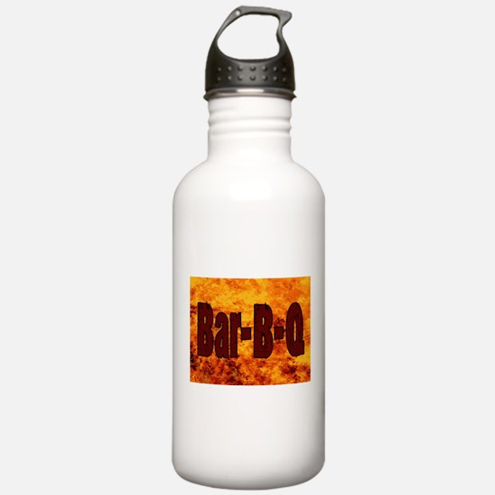 Bar BQ Flame Brand Water Bottle
