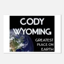 cody wyoming - greatest place on earth Postcards (