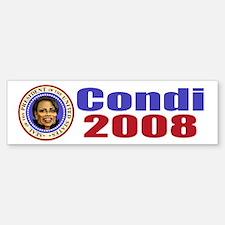 Condi 2008 Bumper Bumper Bumper Sticker