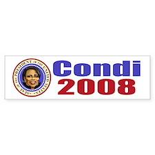 Condi 2008 Bumper Bumper Sticker