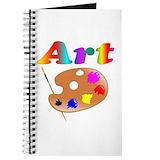 Art teacher Journals & Spiral Notebooks