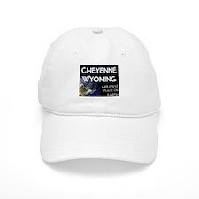 cheyenne wyoming - greatest place on earth Baseball Cap