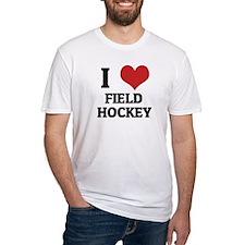 I Love Field Hockey Shirt