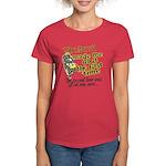 The Devil Made Me Do It Women's Dark T-Shirt
