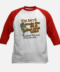 The Devil Made Me Do It Tee
