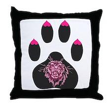 Sexy Scratcher -- Throw Pillow