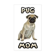 Pug Mom Decal