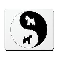 Yin Yang Wheaten Mousepad