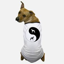 Yin Yang Whippet Dog T-Shirt