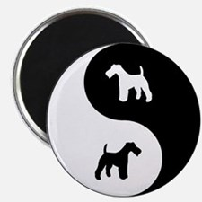 Yin Yang Wire Fox Magnet