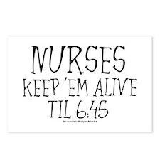 Nurses keep em alive II Postcards (Package of 8)