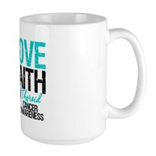 Thyroid Cancer Hope Faith Mug