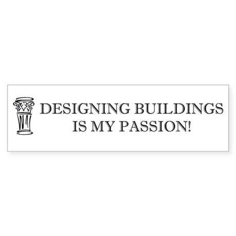 Designing Buildings Architecture Sticker