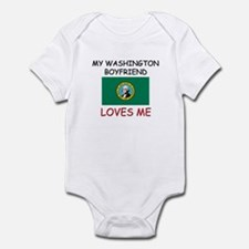 My Washington Boyfriend Loves Me Infant Bodysuit