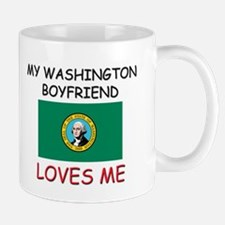 My Washington Boyfriend Loves Me Mug
