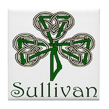 Sullivan Shamrock Tile Coaster
