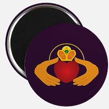 Royal Purple Claddagh Magnet