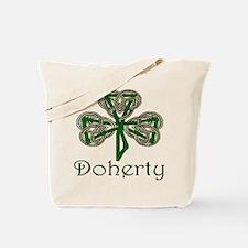 Doherty Shamrock Tote Bag