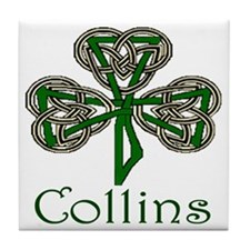 Collins Shamrock Tile Coaster