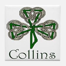 Collins Shamrock Tile Coaster