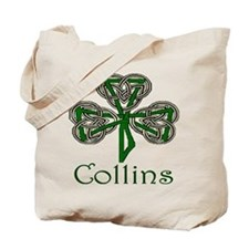 Collins Shamrock Tote Bag