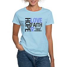 Stomach Cancer Faith T-Shirt