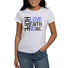 Stomach Cancer Faith Tee