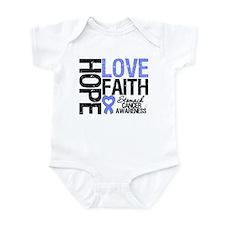 Stomach Cancer Faith Infant Bodysuit