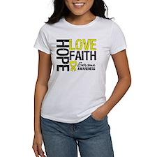 Sarcoma Hope Faith Tee