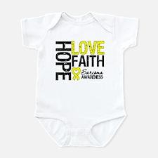 Sarcoma Hope Faith Infant Bodysuit