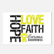 Sarcoma Hope Faith Postcards (Package of 8)