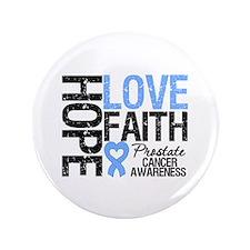 """Prostate Cancer Faith 3.5"""" Button"""