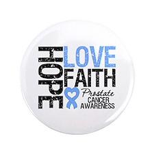 "Prostate Cancer Faith 3.5"" Button (100 pack)"