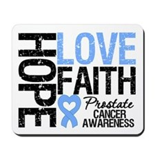 Prostate Cancer Faith Mousepad