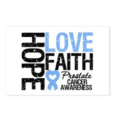 Prostate Cancer Faith Postcards (Package of 8)