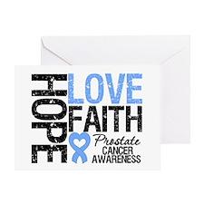 Prostate Cancer Faith Greeting Card