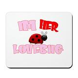 Lovebug Classic Mousepad