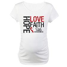 Oral Cancer Hope Faith Shirt