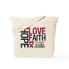 Multiple Myeloma Faith Tote Bag