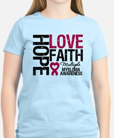 Multiple Myeloma Faith T-Shirt