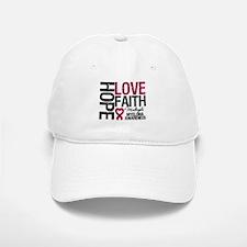 Multiple Myeloma Faith Baseball Baseball Cap