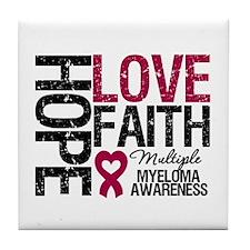 Multiple Myeloma Faith Tile Coaster