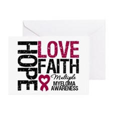Multiple Myeloma Faith Greeting Cards (Pk of 20)