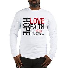 Lung Cancer Faith Long Sleeve T-Shirt