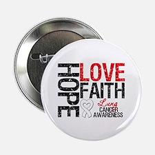 """Lung Cancer Faith 2.25"""" Button"""