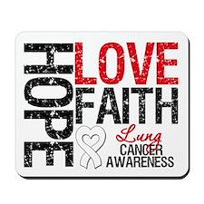 Lung Cancer Faith Mousepad